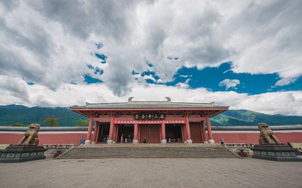 川藏线自驾游-大理崇圣寺三塔